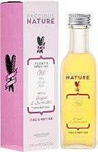 Düfte, Parfümerie und Kosmetik Leichtes Öl für lockiges und welliges Haar mit Traube und Lavendel - Alfaparf Precious Nature Oil Curly & Wavy Hair Grape & Lavender