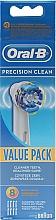 Düfte, Parfümerie und Kosmetik Ersatzköpfe für elektrische Zahnbürste 8 St. - Oral-B EB20 Precision clean