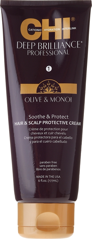 Beruhigende und schützende Haar- und Kopfhautcreme - CHI Deep Brilliance Soothe & Protect — Bild N1