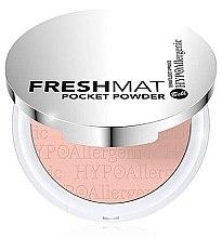 Düfte, Parfümerie und Kosmetik Hypoallergener Gesichtspuder - Bell Hypoallergenic Fresh Mat Pocket Powder