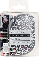 Düfte, Parfümerie und Kosmetik Haarbürste - Tangle Teezer Compact Styler Punk Leopard