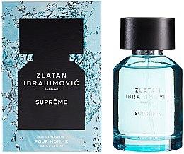 Düfte, Parfümerie und Kosmetik Zlatan Ibrahimovic Supreme Pour Homme - Eau de Toilette