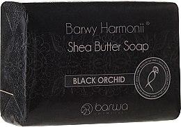Düfte, Parfümerie und Kosmetik Sheabutter Seife mit Schwarzer Orchidee - Barwa Harmony Soap Black Orchid