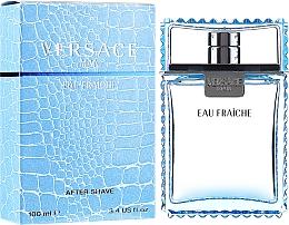 Düfte, Parfümerie und Kosmetik Versace Man Eau Fraiche - After Shave Lotion