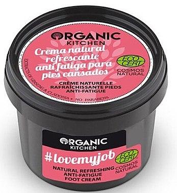Erfrischende Creme gegen müde Füße - Organic Shop Organic Kitchen Foot Cream