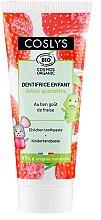 Düfte, Parfümerie und Kosmetik Kinderzahnpasta mit Erdbeergeschmack - Coslys Junior Toothpaste