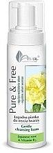 Düfte, Parfümerie und Kosmetik Sanfter Gesichtsreinigungsschaum mit japanischer Rose und Vitamin B3 - AVA Laboratorium Pure & Free Gentle Cleansing Foam