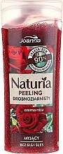 Düfte, Parfümerie und Kosmetik Duschpeeling mit schwarzem Rosenduft - Joanna Naturia Peeling