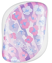 Düfte, Parfümerie und Kosmetik Kompakte Haarbürste Pink Leopard - Tangle Teezer Compact Styler Digital Skin Leopard