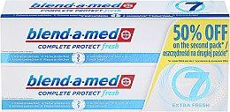 """Düfte, Parfümerie und Kosmetik Zahnpasta-Set """"Complete 7 Extra Fresh"""" - Blend-a-med Complete 7 Extra Fresh (Zahnpasta/2x100ml)"""