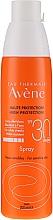 Düfte, Parfümerie und Kosmetik Sonnenschutzspray für empfindliche Haut SPF 30 - Avene Solaires Haute Protection Spray SPF 30
