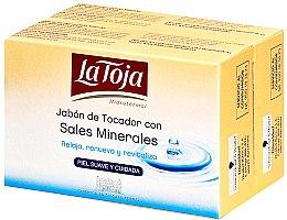 Düfte, Parfümerie und Kosmetik Seifenset - La Toja Hidrotermal Toilet Soap With Salt Mineral (Seife 2x125g)