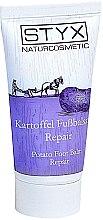 Düfte, Parfümerie und Kosmetik Regenerierender und pflegender Fußbalsam mit Kartoffelextrakt für rissige und trockene Füße - Styx Naturcosmetic Potato Foot Balm Repair
