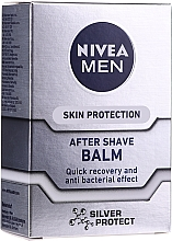 "Düfte, Parfümerie und Kosmetik After Shave Balsam ""Silver Protect"" - Nivea For Men Silver Protect After Shave Balm"
