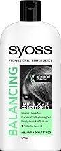 Düfte, Parfümerie und Kosmetik Ausgleichende Haarspülung für Haar und Kopfhaut - Syoss Balancing