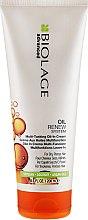 Düfte, Parfümerie und Kosmetik Regenerierende und feuchtigkeitsspendende Haarcreme 5in1 - Biolage Advanced Oil Renew Multi-Tasking