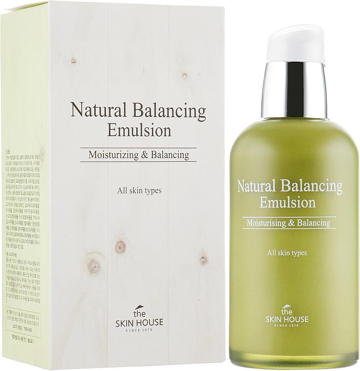 Feuchtigkeitsspendende und balancierende Gesichtsemulsion für alle Hauttypen - The Skin House Natural Balancing Emulsion