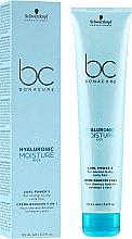 Düfte, Parfümerie und Kosmetik Feuchtigkeitsspendende Creme für lockiges Haar - Schwarzkopf Professional Bonacure Hyaluronic Moisture Kick Curl Power 5