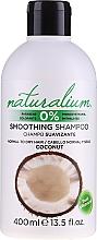 Düfte, Parfümerie und Kosmetik Glättendes Shampoo mit Kokosnuss - Naturalium Coconut Smoothing Shampoo
