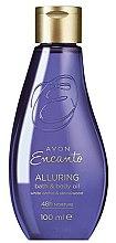 Düfte, Parfümerie und Kosmetik Avon Encanto Alluring - Duschöl mit weißer Orchidee und Sandelholz