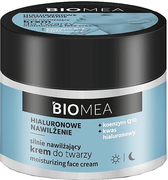 Feuchtigkeitsspendende Gesichtscreme mit Hyaluronsäure Q10 - Farmona Biomea Moisturizing Face Cream