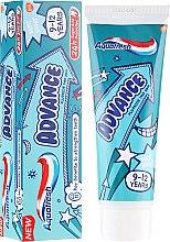 Düfte, Parfümerie und Kosmetik Kinderzahnpasta mit Fluorid 9-12 Jahre Advance - Aquafresh Advance