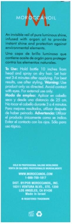 Haaröl-Spray für mehr Glanz mit Arganöl - MoroccanOil Glimmer Shine — Bild N3