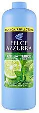 Düfte, Parfümerie und Kosmetik Antibakterielle Flüssigseife Minze & Limette - Felce Azzurra Antibacterial Mint & Lime (Nachfüllflasche)