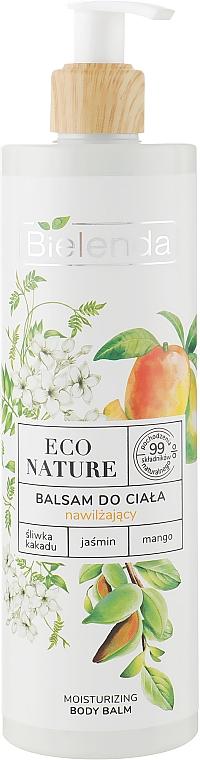 Feuchtigkeitsspendender Körperbalsam mit Buschpflaume, Jasmin und Mango - Bielenda Eco Nature Kakadu Plum, Jasmine and Mango