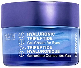 Düfte, Parfümerie und Kosmetik Anti-Aging Augengel mit Hyaluronsäure und Tripeptiden - StriVectin Advanced Hydration Hyaluronic Tripeptide Gel-Cream For Eyes