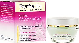 Düfte, Parfümerie und Kosmetik Anti-Falten Gesichtscreme - Perfecta Cera Naczynkowa Cream