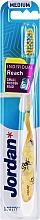 Düfte, Parfümerie und Kosmetik Zahnbürste mit Schutzkappe mittel Individual Reach gelb - Jordan Individual Reach Medium Toothbrush