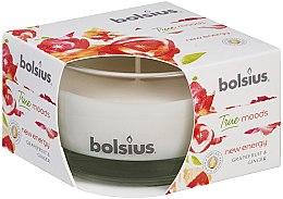 Düfte, Parfümerie und Kosmetik Duftkerze im Glas Grapefruit und Ingwer 50/80 mm - Bolsius True Moods Candle
