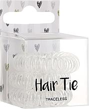 Düfte, Parfümerie und Kosmetik Haargummis 3 St. - Cosmetic 2K Hair Tie Clear
