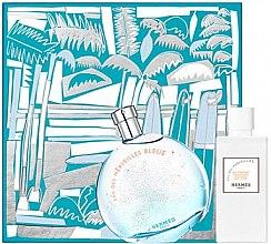 Düfte, Parfümerie und Kosmetik Hermes Eau des Merveilles Bleue - Duftset (Eau de Toilette 100ml + Körperlotion 80ml)