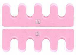 Düfte, Parfümerie und Kosmetik Pediküre Trenner rosa - Ilu Toe Separator Pink