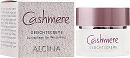 Düfte, Parfümerie und Kosmetik Pflegecreme für besonders trockene und sensible Haut - Alcina Cashmere Face Cream
