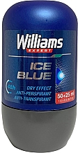 Düfte, Parfümerie und Kosmetik Deo Roll-on Antitranspirant - Williams Expert Ice Blue Roll-On Anti-Perspirant Dry Effect