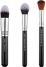Düfte, Parfümerie und Kosmetik Make-up Pinselset T309 3 St. - Jessup
