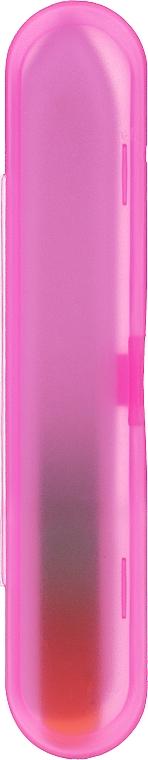 Glasnagelfeile mit rosa Etui - Tools For Beauty — Bild N2