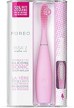 Düfte, Parfümerie und Kosmetik Schallzahnbürsten-Set für empfindliche Zähne Issa 2 Pearl Pink - Foreo Issa 2 Sensitive Set Pearl Pink