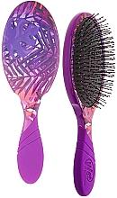 Düfte, Parfümerie und Kosmetik Haarbürste Sommertropen - Wet Brush Pro Detangler Neon Summer Tropics Purple