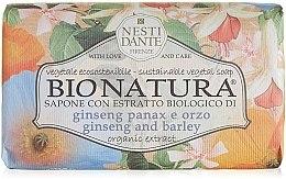 """Düfte, Parfümerie und Kosmetik Seife """"Ginseng und Gerste"""" - Nesti Dante Bio Natura Ginseng & Barley Soap"""