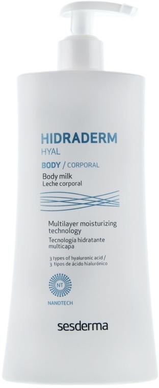 Schützende und feuchtigkeitsspendende Körperlotion - SesDerma Laboratories Hidraderm Body Milk — Bild N2