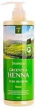 Düfte, Parfümerie und Kosmetik Erfrischender Conditioner für seidiges Haar mit Grüntee-Extrakt - Deoproce Green Tea Henna Pure Refresh Rinse