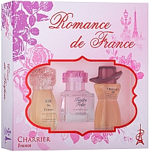 Düfte, Parfümerie und Kosmetik Charrier Parfums Romance De France - Duftset (Eau de Parfum 11.5ml + Eau de Parfum 10.1ml + Eau de Parfum 12ml)