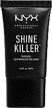 Düfte, Parfümerie und Kosmetik Mattierende Make-Up Base - NYX Professional Makeup Shine Killer