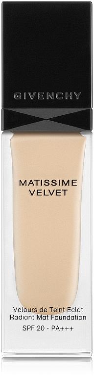 Flüssige Foundation LSF 20 - Givenchy Matissime Velvet Liquid Foundation SPF 20