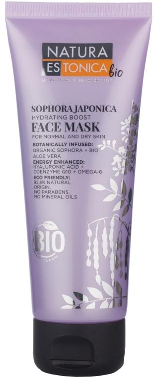 Feuchtigkeitsspendende Gesichtsmaske mit japanischem Schnurbaum-Extrakt - Natura Estonica Sophora Japonica Face Mask
