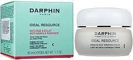 Düfte, Parfümerie und Kosmetik Aufhellende Nachtcreme gegen Falten für alle Haartypen - Darphin Ideal Resource Re-Birth Overnight Cream